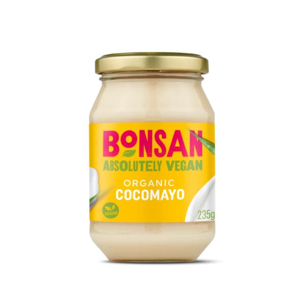 Maioneza vegana cu cocos eco 235g Bonsan