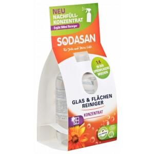 Solutie bio de curatare a geamurilor concentrata 100ml SODASAN