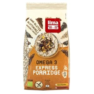 Porridge Express Omega 3 fara gluten bio 350g Lima