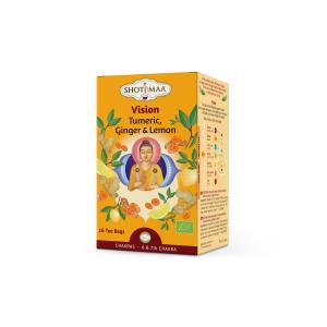 Ceai Shotimaa Chakras - Vision - turmeric