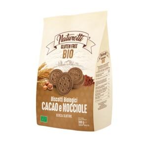 Biscuiti cu cacao si alune de padure eco