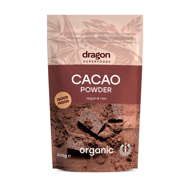Cacao pudra raw eco 200g