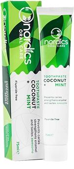 Pasta de dinti anticarie cu cocos si menta bio