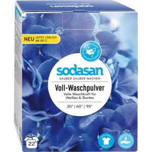 Detergent praf bio pentru spalari grele 1010gr Sodasan