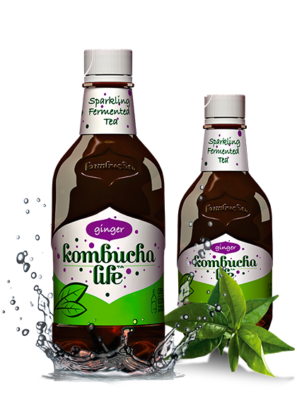 Kombucha Life cu ghimbir 500ml