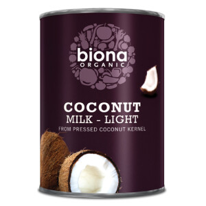 Lapte de cocos eco Biona light 400ml