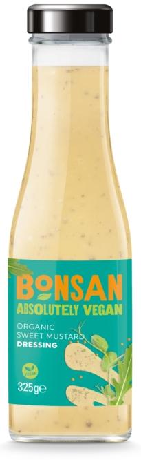 Dressing cu mustar dulce bio 310ml Bonsan