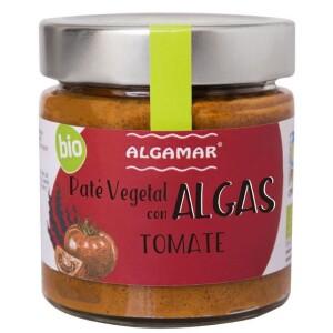 Pate vegetal cu alge si rosii eco 180g