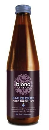 Suc de afine pur eco 330ml Biona