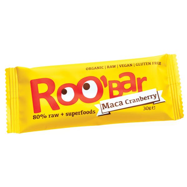 Baton Roobar cu maca si merisor raw eco 30g