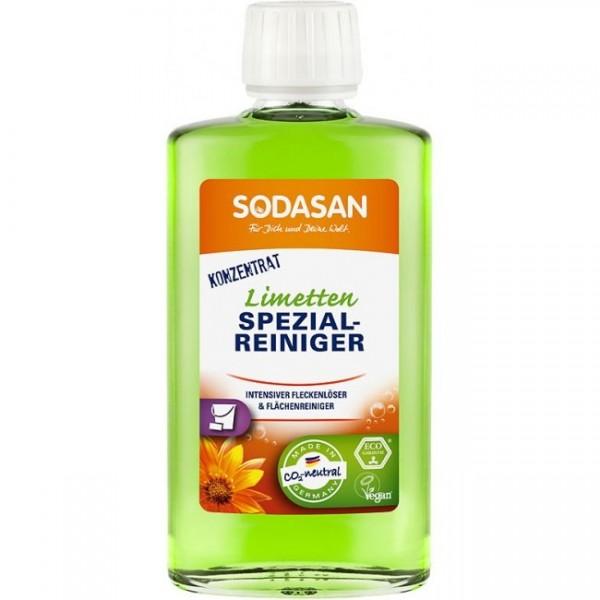 Solutie bio speciala de curatare pete si miros 250ml Sodasan