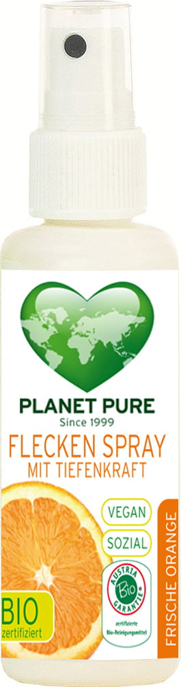 Spray pentru pete bio cu ulei de portocale 50ml Planet Pure