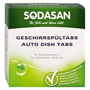 Tablete masina de spalat vase bio 25buc SODASAN