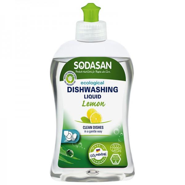 Detergent vase bio lichid lamaie 500ml SODASAN