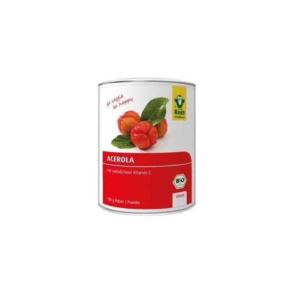 Acerola pulbere bio - Raab Vitalfood