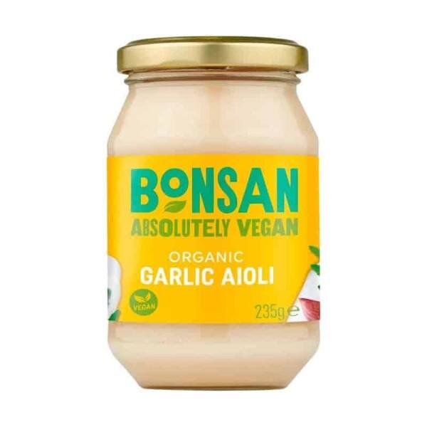 Aioli vegan cu usturoi eco - Bonsan