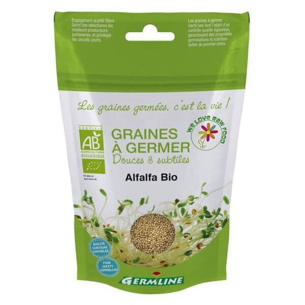Alfalfa seminte pentru germinat bio - Germline 1