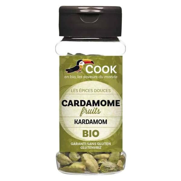 Cardamom intreg bio 25g - Cook