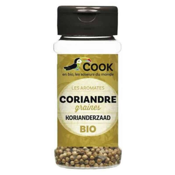 Seminte de coriandru bio 30g - Cook
