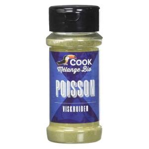 Mix de condimente pentru peste bio 30g - Cook