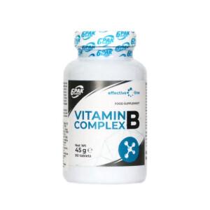 Vitamina B Complex 500mg, 90 tablete, 6Pak Nutrition