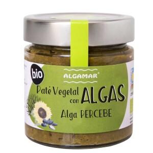 Pate vegetal cu alge Percebe eco 180g