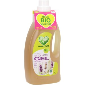 Detergent Gel bio de rufe - lavanda - 1.5L Planet Pure