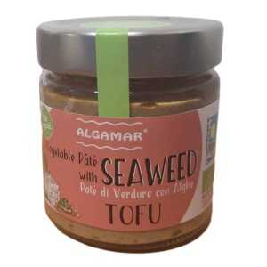 Pate vegetal cu alge si tofu eco 180g