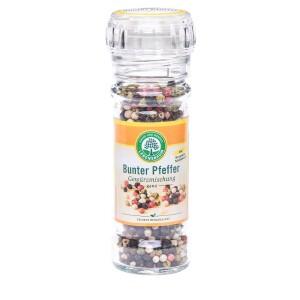 Amestec de piper boabe in rasnita de sticla 45g - Lebensbaum