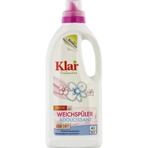 Balsam sensitiv pentru rufe fara parfum 1l - Klar
