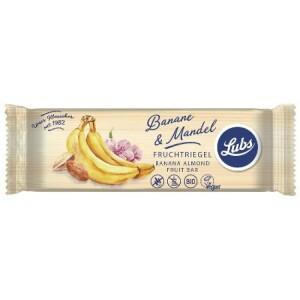 Baton cu banana si migdale FARA GLUTEN 40g - Lubs