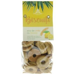 Biscuiti de ovaz cu lamaie 250g - Moringa Eur