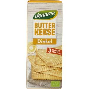 Biscuiti din spelta si unt Butterkeks 150g - Dennree