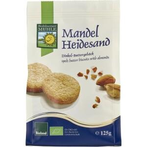 Biscuiti fragezi bio cu migdale 125g - Bohlsener Muehle