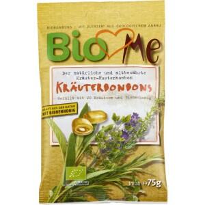 Bomboane bio cu plante si miere bio 75g - BIO Loves Me