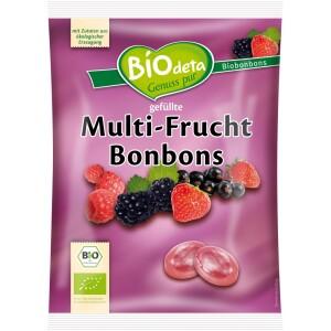 Bomboane ecologice cu fructe de padure 75g - BIOdeta