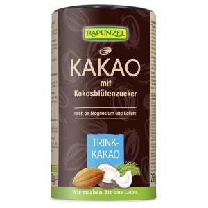 Cacao cu zahar din nuca de cocos 250g - Rapunzel