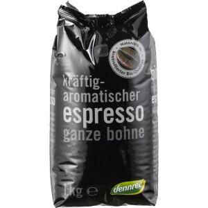 Cafea Espresso boabe 1kg - Dennree