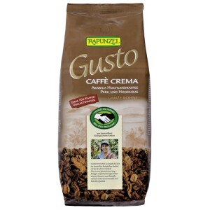 Cafea Gusto Crema boabe 1Kg - Rapunzel