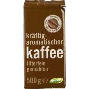 Cafea prajita macinata 500g - Dennree