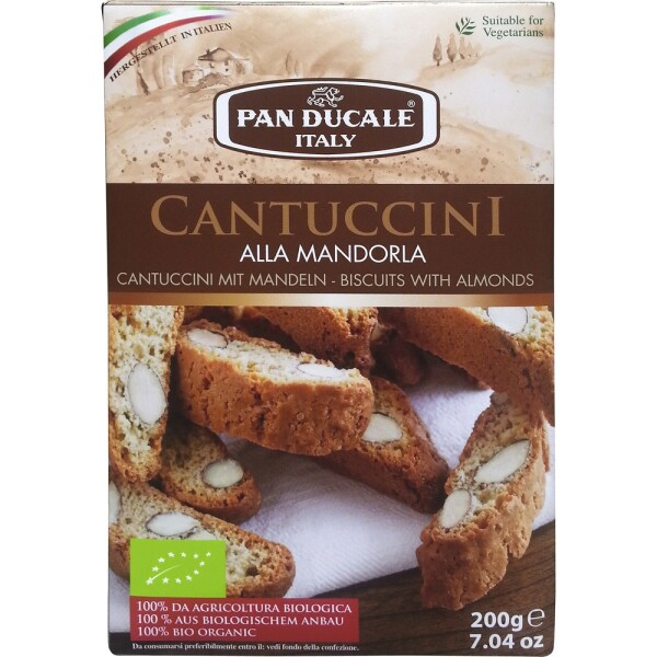 Cantuccini bio cu migdale 200g - Pan Ducale Italy