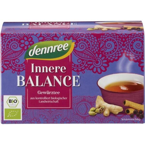 Ceai bio pentru echilibru interior 40g - Dennree
