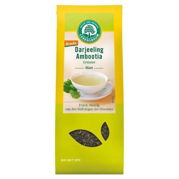 Ceai verde Darjeeling bio DEMETER 50g - Lebensbaum