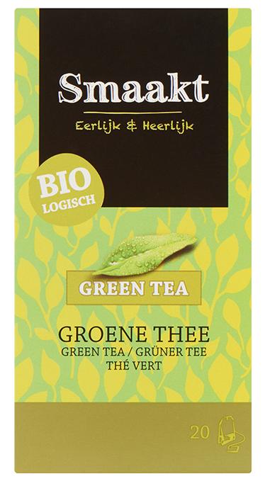Ceai verde bio 20 plicuri Smaakt
