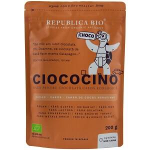 Ciococino baza pentru ciocolata calda ecologica 200g - Republica bio