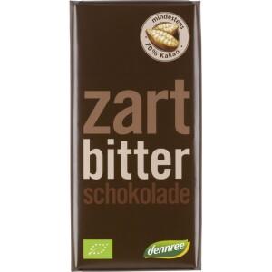Ciocolata amaruie 70% cacao 100g - Dennree