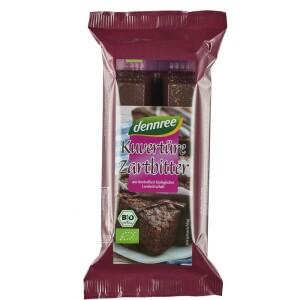 Ciocolata amaruie cuvertura 150g - Dennree
