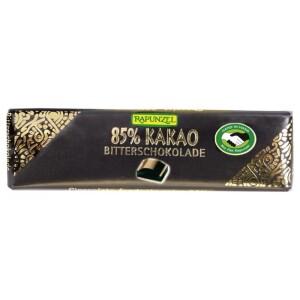 Ciocolata bio amaruie mica 85% cacao HIH 20g - Rapunzel