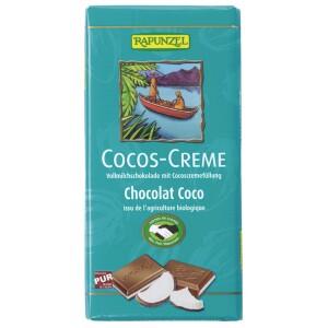 Ciocolata bio cu crema de cocos HIH 100g - Rapunzel