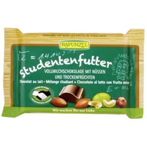 Ciocolata bio cu mix de fructe si alune 100g - Rapunzel